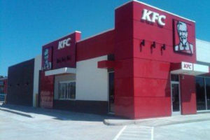 KFC Store Front Fabrication Results